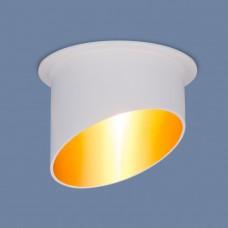 Встраиваемый потолочный светильник 7005 MR16 WH/GD белый/золото