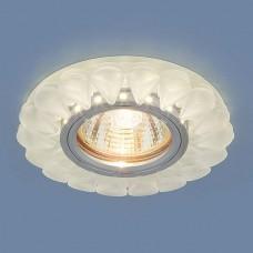 Встраиваемый потолочный светильник со светодиодной подсветкой 2210 MR16 Matt Ice матовый лед
