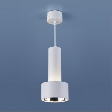 Накладной точечный светильник DLR033 9W 4200K 3300 белый/хром