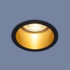 Встраиваемый потолочный светильник 7004 MR16 BK/GD черный/золото