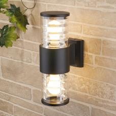 Настенный уличный светильник Elektrostandard Techno 1407 черный