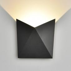 Настенный светильник Elektrostandard 1517 Techno LED Butterfly черный
