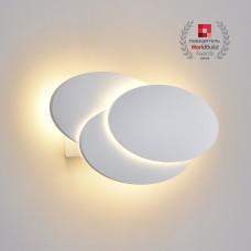 Настенный светодиодный светильник Elektrostandard Elips LED белый матовый (MRL LED 12W 1014 IP20)