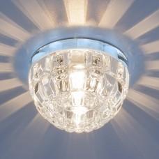 Точечный светильник со светодиодной подсветкой Elektrostandard 7246 G9 CH/CL хром/прозрачный