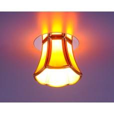 Точечный светильник Elektrostandard 8375 SB/BROWN (бронза/коричневый)