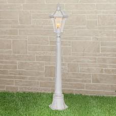 Светильник на столбе Elektrostandard Capella F белое золото