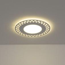 Встраиваемый потолочный светодиодный светильник Elektrostandard DSS003 10W 4200K