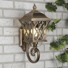 Настенный светильник Elektrostandard Cassiopeya U черное золото