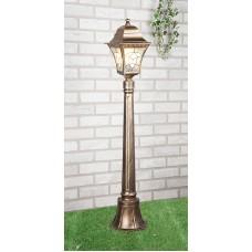 Светильник на столбе Elektrostandard Altair F черное золото
