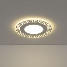 Встраиваемый потолочный светодиодный светильник Elektrostandard DSS002 10W 4200K
