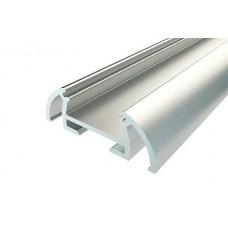 Профиль алюминиевый для порогов LC-LPP-0925-2 Anod