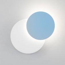 Настенный светодиодный светильник 40135/1 белый/голубой