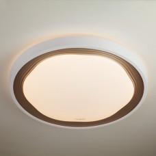 Управляемый накладной светодиодный светильник 40006/1 LED кофе