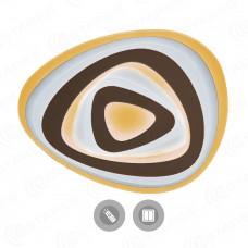 Управляемый светодиодный светильник Geometria Trio 80W t-520-white-220-ip44