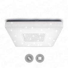 Управляемый светодиодный светильник QUADRON SIYANIE 60W S-550-SHINY/CRISTAL-220V-IP44